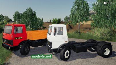 mercedes 817 mod