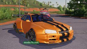 NissanSkylineGTR R34