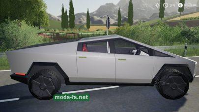 Мод на TeslaCybertruck