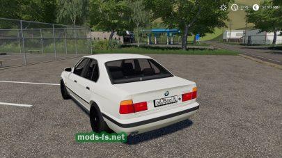 Мод на BMW 520