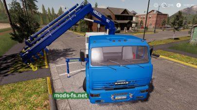 КамАЗ 65117PickerCrane