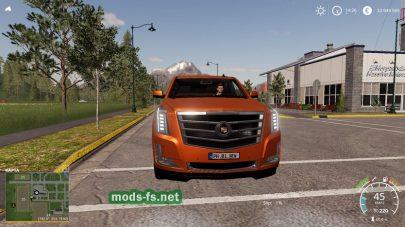 Мод на Cadillac Escalade ESV