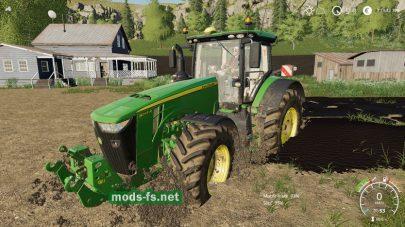Болото в игре Farming Simulator 2019