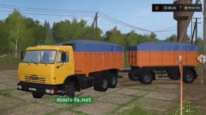 КамАЗ-45143 и прицеп для FS 2017