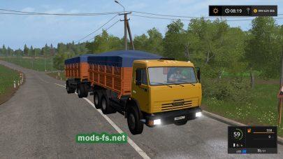 Мод на КамАЗ-45143