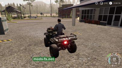 Lizard Quad Bike для Farming Simulator 2019