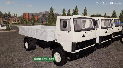 Пак грузовиков МАЗ для FS 19