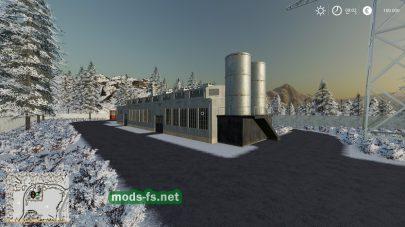 Мод на карту со снегом