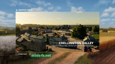 «Chellington Valley» V1.0 для Farming Simulator 2019