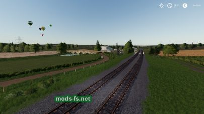 Железная дорога в FS 2019 на карте Chellington Valley