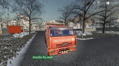 kamaz-65115 mod FS 2019
