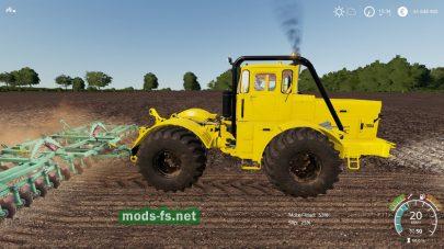 Мод трактора Kirovets K-700a