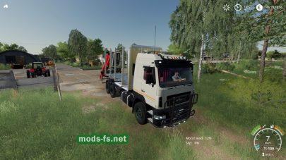 Мод на MAZ 631203 Timber Truck