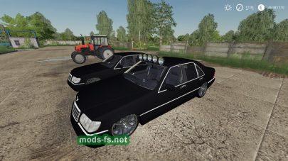 Мод на Mercedes Benz 500