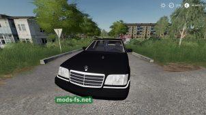Мод на авто Mercedes Benz 500