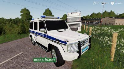 Mercedes-Benz G55 AMG Police для игры FS 2019