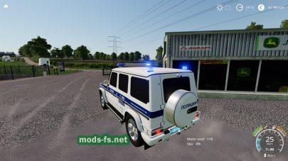 Mercedes-Benz G55 AMG Police