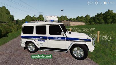 Скриншот мода Mercedes-Benz G55