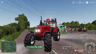 Мод на трактор MTZ – 1221.4
