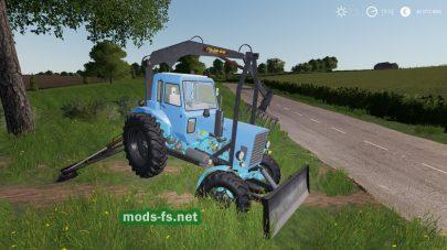 MTZ 82 PE 2F Forklift – Alteration для Farming Simulator 2019