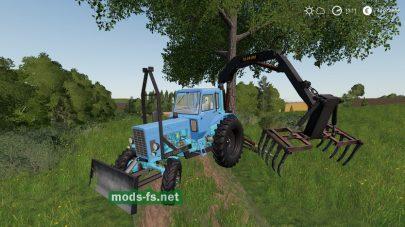 Мод на MTZ 82 PE 2F Forklift