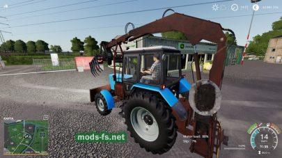 Мод на MTZ 82 PE 1F Forklift