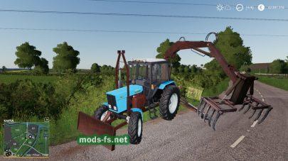 MTZ 82 PE 1F Forklift для FS 19
