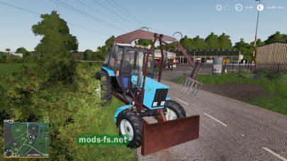 MTZ 82 PE 1F Forklift mod