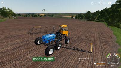Tuman-1M Sprayer для игры Farming Simulator 2019