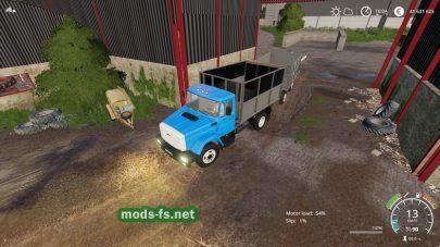 Мод на грузовики ЗИЛ