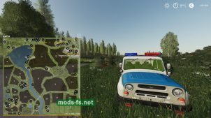 Схема карты Green Valley Pack Fix2
