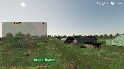 Схема карты Новгородовка