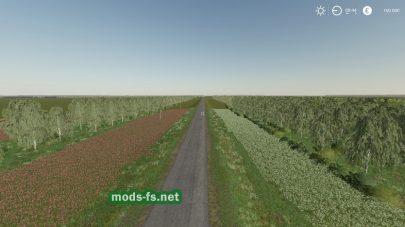 Дорога на карте Novgorodovka mod