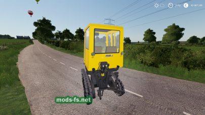 Мод трактора KTZ T-70C