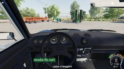 ВАЗ 2106 БПАН для Farming Simulator 2019