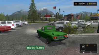 ЗАЗ-968МР для FS 17