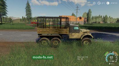 Мод на GAZ-69 6X6