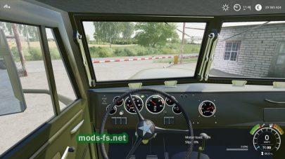 КрАЗ-255Б для игры Farming Simulator 2019