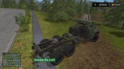 КрАЗ 260Т для игры Farming Simulator 2017