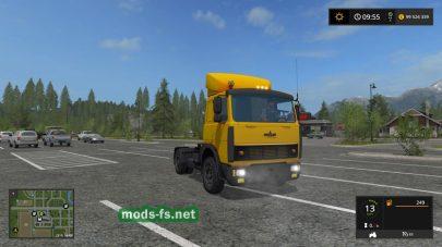 МАЗ-5432 для игры Farming Simulator 2017