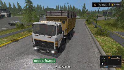 Мод на МАЗ-5516