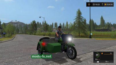 Мод мотоцикла Урал М-67