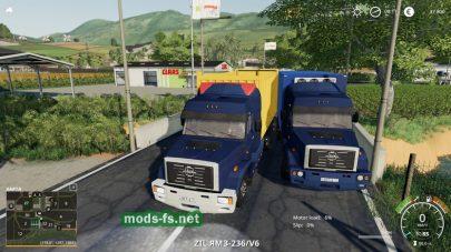 zil-133 g40 truckers