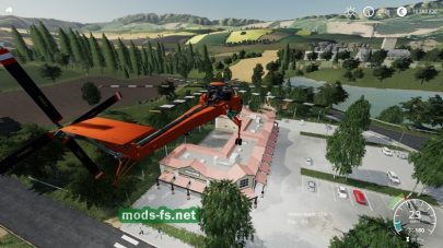Forestry Helicopter
