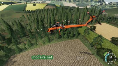 Forestry Helicopter mod