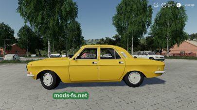 Мод на ГАЗ 24