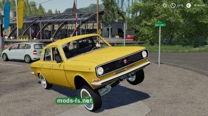 Мод для ГАЗ 24