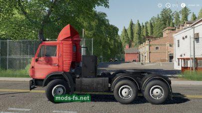 КамАЗ 54112 для Farming Simulator 2019