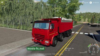 КамАЗ 65201 для FS 2019