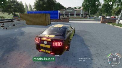 Мод на Mustang S197